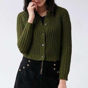 ✅NWOT✅ UNIF crop Cardigan
